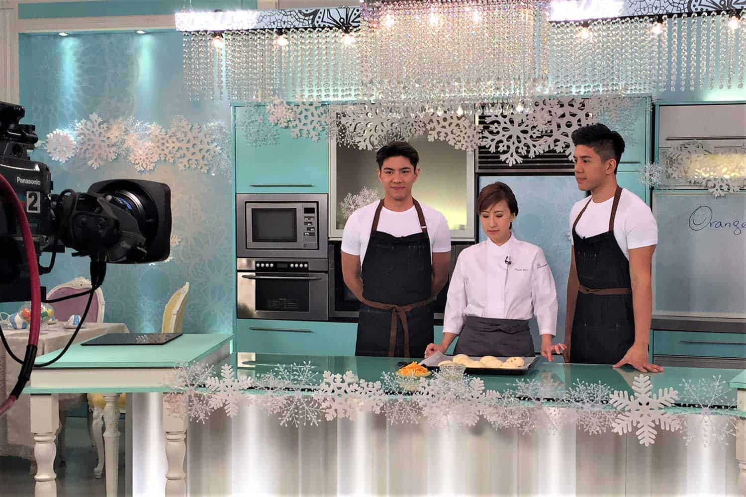 TVB myTBSuper 甜心教室 Sarah Yam Bread Cloud 麵包課